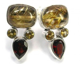 EARRING GEMSTONES-DIRECT FROM FACTORY 32.45 CTS [SJR32]