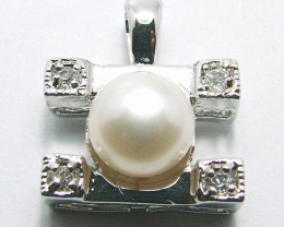 NATURAL PEARL PENADNT 18.40 CTS ADK-670