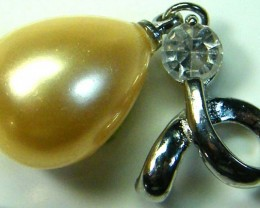 GOLD PEARL PENDANT 22.75 CTS [GT859 ]