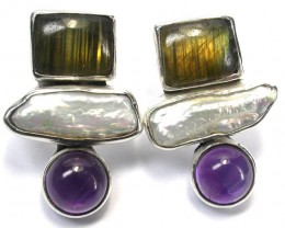 EARRING GEMSTONES-DIRECT FROM FACTORY 56.85 CTS [SJR10]