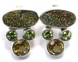 EARRING GEMSTONES-DIRECT FROM FACTORY 40.50 CTS [SJR15]