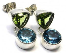 EARRING GEMSTONES-DIRECT FROM FACTORY  27.15 CTS [SJR8]