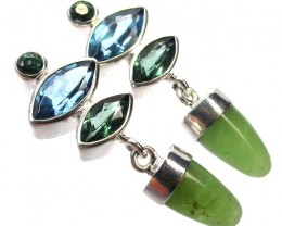 EARRING GEMSTONES-DIRECT FROM FACTORY 33.15 CTS [SJR9]