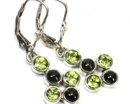 EARRING GEMSTONES-DIRECT FROM FACTORY 17.50 CTS [SJR11]