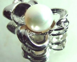 PEARL PENDANT -SILVER   14 CTS SG-2216