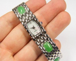 AVENTURINE GEMSTONE   WATCH  282.50 CARATS  AAT 1621
