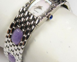 GEMSTONE PURPLE AVENTURINE  WATCH  279.70 CARATS AAT 1622