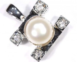 NATURAL PEARL PENADNT 18.40 CTS  TBJ-671