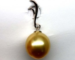 PACIFIC GOLD PEARL PENDANT 12.60 CTS   TBJ- GC