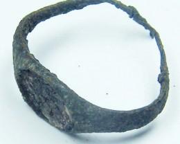 Roman Ancient Bronze ring  GR OPAC1624