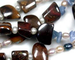 NATURAL GENUINE GEMSTONE NECKLACE 845 CTS RA829
