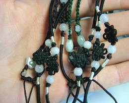 JADE NECKLACE  PARCEL [5] -ADJUSTABLE 54.00 CTS [GT813 ]
