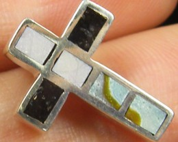 MOTHER OF PEARL SHELL INLAY PENDANT 9.85 CTS MYG 42