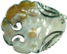 PEARL SHELL PENDANT 60 CTS [MX1537 ]