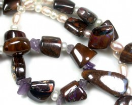 NATURAL GENUINE GEMSTONE NECKLACE 540 CTS RA830