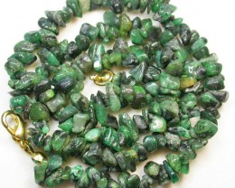 141.10 CTS EMERALD NECKLACE  WITH CLIP [SJ2021]