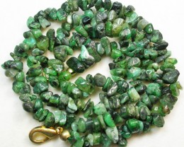 110.65 CTS EMERALD NECKLACE  WITH CLIP [SJ2022]