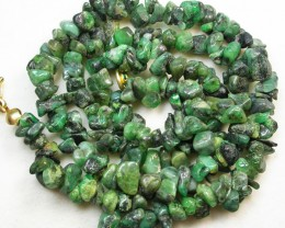 119.65 CTS EMERALD NECKLACE  WITH CLIP [SJ2025]