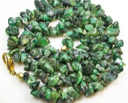121.10 CTS EMERALD NECKLACE  WITH CLIP [SJ2026]