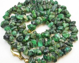 116.10 CTS EMERALD NECKLACE  WITH CLIP [SJ2027]
