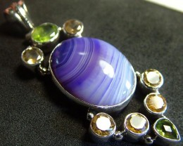 STUNNING AGATE PENDANT 100.00CTS [GT803 ]