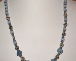 181.35 CTW OF MIXED GEMSTONES IN THIS NECKLACE