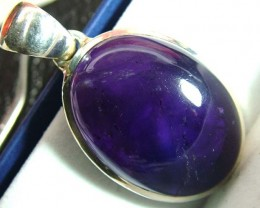 AMETHYST SILVER PENDANT 62.5 CTS SG-2180