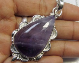 80 CTS LARGE AMETHYST  PENDANT GG654