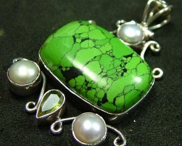 STUNNING HOWLITE PENDANT 84.00 CTS [GT847 ]