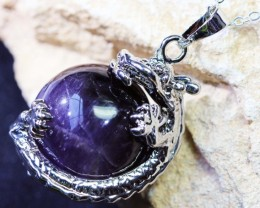 DRAGON  AMETHYST   PENDANTS BU1128