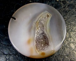 190 CTS LARGE DRUZZY  AGATE  PENDANT  GG 261