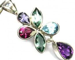 GEMSTONES PENDANT DIRECT FROM FACTORY 18.85 CTS [SJ1200]