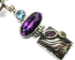 GEMSTONES PENDANT DIRECT FROM FACTORY 20.20 CTS [SJ1203]