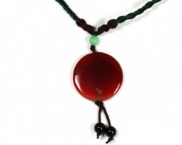 NEW TRIBAL TRADITIONAL ROUND   AGATE   NECKLACE    TR76