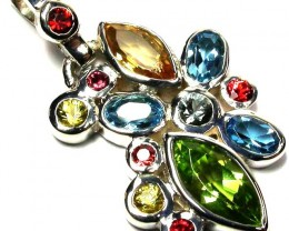 Mixed Gemstone Pendants