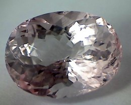 Lovley 2.05ct Soft Pink Oval Sparkling Morganite, M23