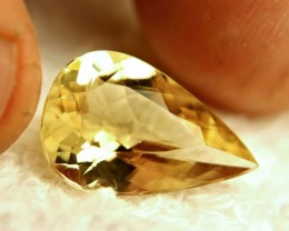 9.66 Carat Brazilian VS Golden Beryl - Gorgeous