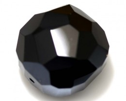 120 CTS BLACK ONYX FACETED BEAD NP-1845
