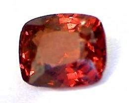 .70ct Reddish Orange Spinel, Burma  VVS TH65