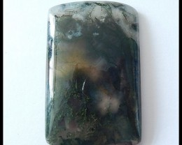 103ct Natural Moss Agate Gemstone Cabochon