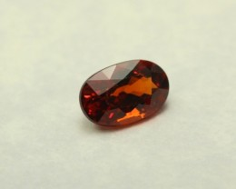 SPESSARTITE GARNET GEMSTONE OVAL SHAPED