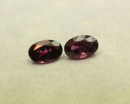 GRAPE GARNET PAIR, REAL PURPLE GRANET