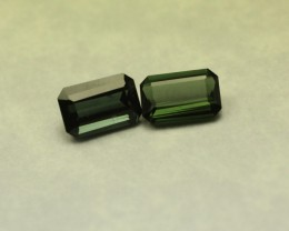 GREEN TOURMALINE EMERALD CUT