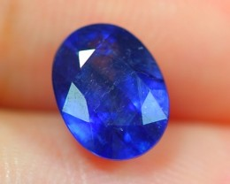 2.13Ct Natural Madagascar Oval Faceted Royal Blue Sapphire