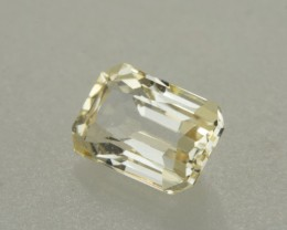 1.80ct Yellow Sapphire E/C (Unheated)