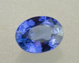 0.87ct Blue Sapphire Oval (Unheated)