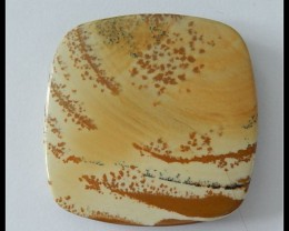103.5ct Natural Owyhee Jasper Pendant Bead