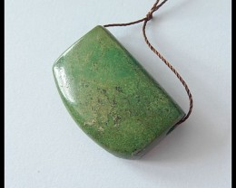 42.5Cts Natural Turquoise Pendant Bead