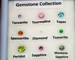 MIX GEM STONES DISPLAY BOX 2 cts RNG-281