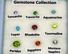 MIX GEM STONES DISPLAY BOX 2 CTS RNG-282